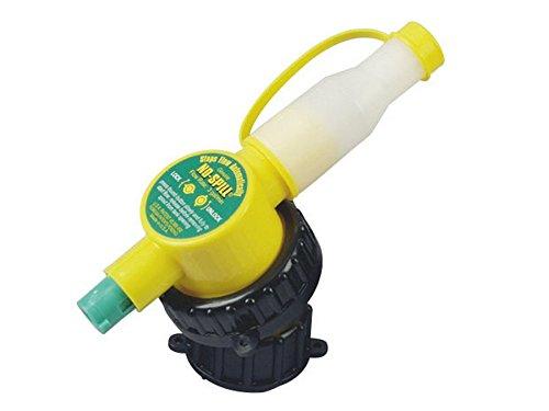 Ratioparts 171,039 NO SPILL automatisches Einfüllsystem für Kraftstoff, Gelb, 14x3,5x8,5 cm