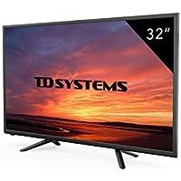 Televisores Led 32 Pulgadas HD Ready TD Systems K32DLT7H. Resolución HD Ready, 3x HDMI, VGA, USB Reproductor y Grabador. Tv Led TDT HD DVB-T2