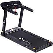 PowerMax Fitness TD-N1 (4HP Peak) 100% Pre-installed Plug And Run Motorized Treadmill with 3-year motor warran