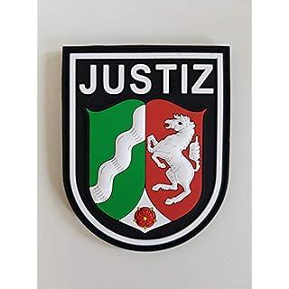 ATG Sleeve Badge JUSTIZ NRW 3D Rubber Patch (Colour)