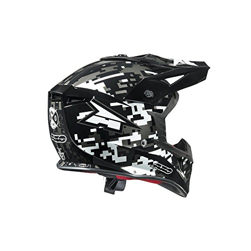 AXO Jump Helme, Schwarz/Weiss, M