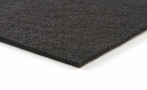 Schwarze Filtermatte für Haushalt/Dunstabzug Filterklasse G2. 1 Stück//1 x 1 m