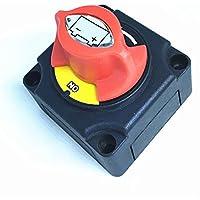 Commutateur isolateur de batterie, par Wiwir - 12V, 24V, 48V, 200A, pour bateau ou camping-car - 4 positions