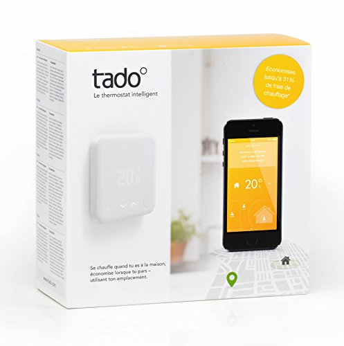 TADO 102460 Version 2, Tado Smart Thermostat Starter Kit, Matt White [Energy Class A]