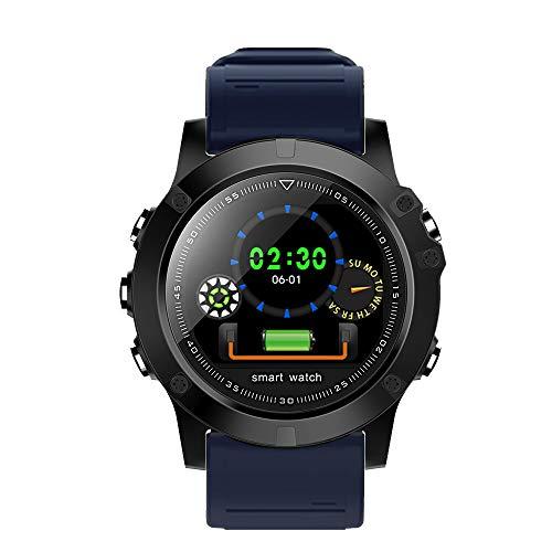 JiaMeng Smartwatches - Monitoraggio della pressione sanguigna impermeabile Smart Heart Rate per iOS Smart watch Bluetooth test di battito informazioni braccialetto impermeabile di livello promemoria