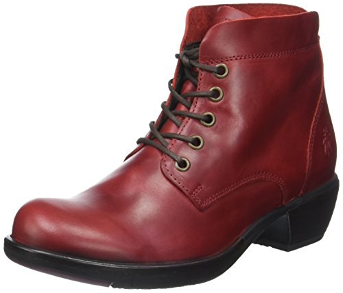 FLY London Mesu780fly, Bottes Femme Rouge (Red)