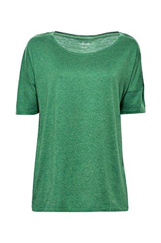 Esprit T-Shirt à Manches Longues Femme Vert (Dark Green 4 303)