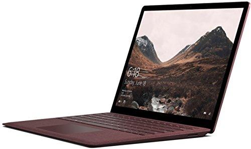 Microsoft Surface Laptop Ordinateur Portable 13.5' Tactile (Core i5, RAM 8 Go, SSD 256 Go, Windows 10S) -Bordeaux