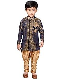 Desi Sarees Jungen Kurta Pyjama Indo Western Sherwani EB 948