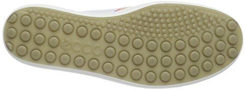 Ecco Ecco Soft 7 Ladies, Baskets Basses femme Blanc - Weiß (WHITE FLORAL PRINT/WHITE/POWDER59768)