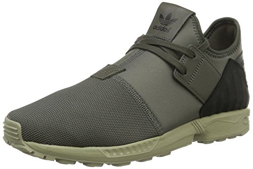 adidas ZX Flux Plus, Sneakers Hautes Homme, Gris Vert (Utility Grey/utility Grey/ftwr White)