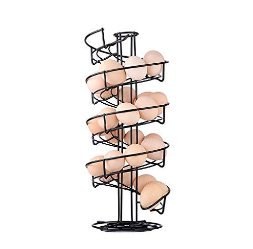 TopLife –Soporte dispensador de huevos, diseño en espiral