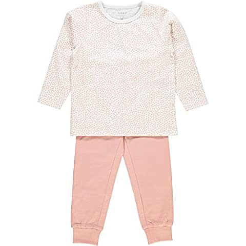 NAME IT Baby Girls' Nmfnightset Noos Pyjama Set, Multicoloured (Bright