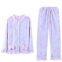 DMMSS Dolce pigiama set pigiama a due pezzi Set donna , 1