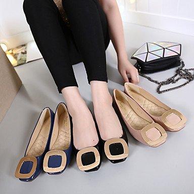 Confortevole ed elegante piatto scarpe donna Appartamenti Primavera Estate Autunno Appartamenti brevetto Casual in pelle tacco piatto altri nero Rosa Blu Altri Pink