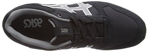 Asics Shaw Runner, Chaussures de Running Compétition Mixte Adulte Noir (Black/Grey)