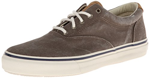 Sperry Top-Sider Striper Cvo, Sneaker basse uomo, Colore Marrone (chocolate), Taglia 42 EU (8 UK)