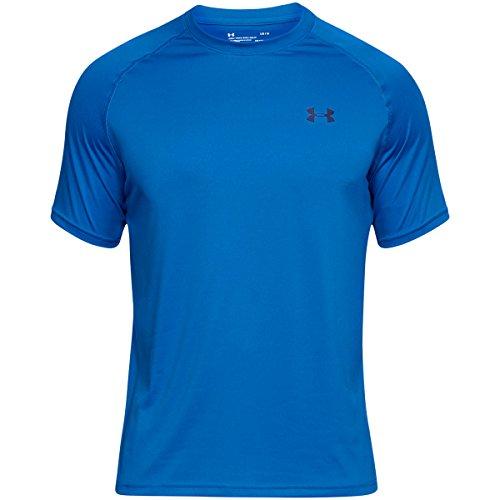 Under Armour Herren Fitness T-Shirt UA Tech Tee Mediterranean/Academy