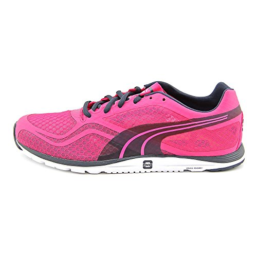 Puma Faas 100 R Synthétique Chaussure de Course Beetroot Purple-Ombre Blue