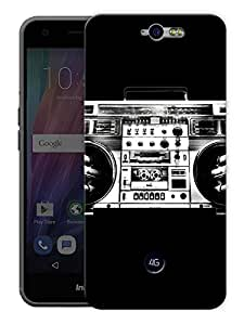 "Humor Gang Radio Music Love Printed Designer Mobile Back Cover For ""Google Infocus M812"" (3D, Matte Finish, Premium Quality, Protective Snap On Slim Hard Phone Case, Multi Color)"