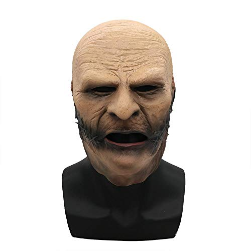Kostüm Geist Maske Blauen - Puurbol DJ Slipknot Taylor Kostüm Maske Party Cosplay Grusel Geist Halloween Fancy Dress Up Für Erwachsene