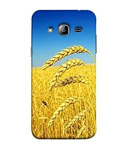PrintVisa Designer Back Case Cover for Samsung Galaxy J5 (2015) :: Samsung Galaxy J5 Duos (2015 Model) :: Samsung Galaxy J5 J500F :: Samsung Galaxy J5 J500Fn J500G J500Y J500M (Food Grains Yellow Harvest Green Fields)
