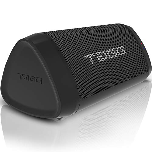 TAGG Sonic Angle 1 IPX5 Water Resistant Wireless Portable Bluetooth Speaker with Microphone (2 x 5W, 3.5mm AUX Support and Supports Google Assistant/SIRI)