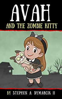 Book cover image for Avah and the Zombie Kitty