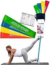 ACTIVEVIKINGSHochwertige Qualität und Modernes Design zeichnen die Widerstandsbänder von ActiveVikings aus.Ideal für Fitnessübungen wie Pilates, Yoga, Gymnastik, Crossfit, Fitnesskurse und Dehnungsübungen.Die Widerstandsbänder werden auch meist stand...