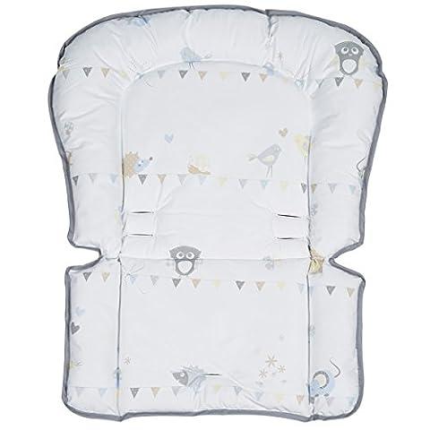 Universal - Sitzverkleinerer Wiesenglück abwaschbar phthalatfrei • Baby Hoch Stuhl Sitz Kissen Auflage