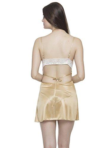 Clovia - Chemise de nuit - Femme Marron