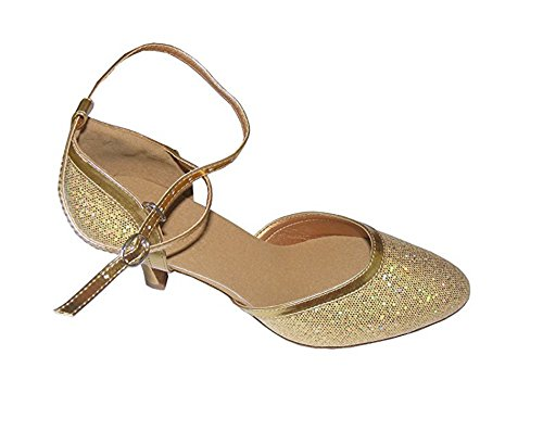 Water Cube Flash Oro Argento signora della sala da ballo moderna scarpe da ballo Oro