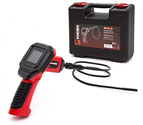 Preisvergleich Produktbild Schmidt Security Tools Inspektionskamera Endoskopkamera EC-4 mit 2.31' LCD Display Endoskop mit 1m Schlauch mit Licht
