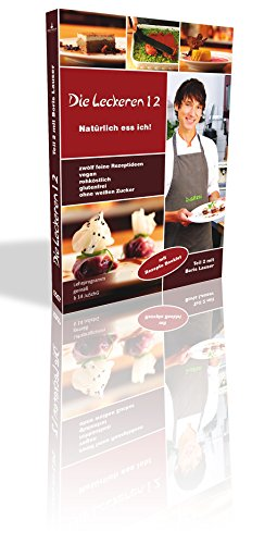 Rohkost Rezepte: Die leckeren 12 - Teil 2 mit Boris Lauser - Vegane Rezepte & Raw Food mit Rezepte-Heft - Roh Vegan & Rohkost für Einsteiger auf DVD -