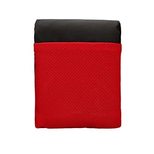 PENVEAT Faltbar Camping Picknick Matte Tragbar Tasche Kompakt feuchtigkeitsfest Pad Decke Garten Wasserdicht Ultralight Yoga Outdoor Neu, B, M