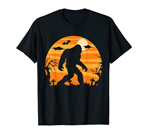 Bigfoot Halloween Kostüm - Bigfoot Halloween Kostüm Sasquatch Funny Outfit Geschenk T-Shirt