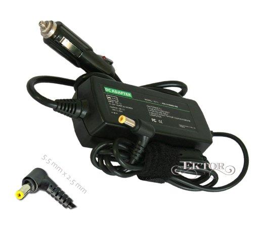 65W DC Adapter Caricabatterie Adattatore Alimentatore da Auto per Fujitsu Siemens Lifebook S, Netbook M Serie: S7010 M 1010, M 2010, M1010, M2010, M7400