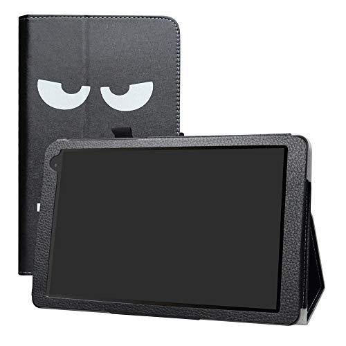 LFDZ Alcatel 1T 10inch Hülle, Schutzhülle mit Hochwertiges PU Leder Tasche Case für 10