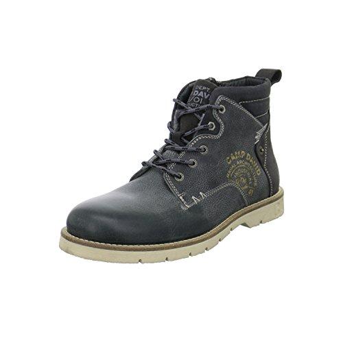 Camp David - CCU-5555-8329 - Lace Up Boots (44, Steel (Herren Schuhe Großhandel)
