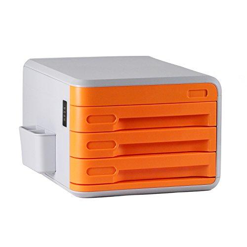 Cassettiera Ufficio Con Serratura.Cassettiere Ufficio Con Serratura Di Codice Abs Plastica 3