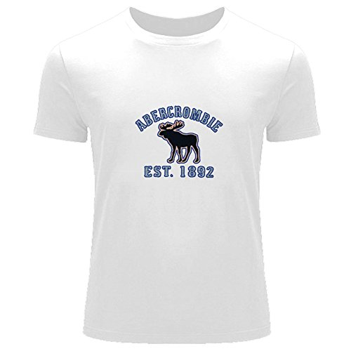 af-abercrombie-fitch-impreso-para-hombres-de-la-camiseta-t-outlet