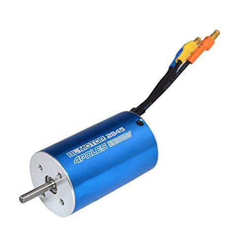 MagiDeal 2845 3100KV Wasserdichter Sensorless Brushless Motor für RC Auto Boot Ersatzteil Spielzeug (Wasserdicht Motor)