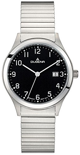 Dugena Men's Analogue Quartz Watch with Stainless Steel Strap 4460754