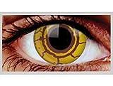 LENTI A CONTATTO GIORNALIERE colorate VIRUS occhi zombie malato horror sangue eyecasions