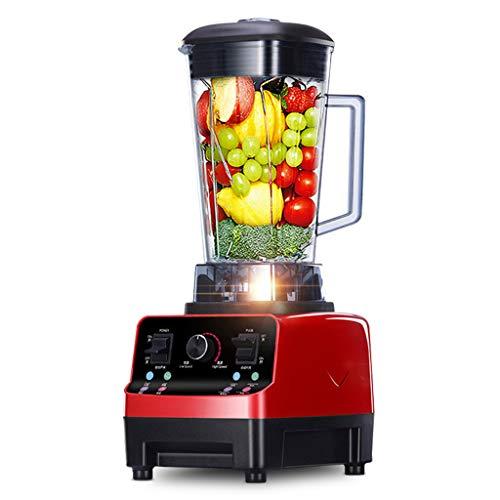 Smoothie Blender, 1500w All-In-One Countertop Blender Food Processor con 2l Blending Cup, con Tapas | Trituradora De Hielo Trituradora Exprimidor Exprimidor