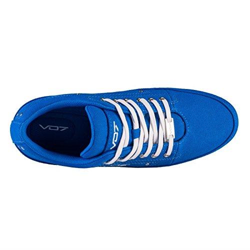 Baskets basses YACHT AZZURRA par VO7 Bleu