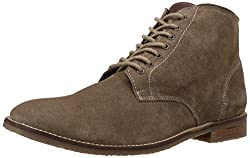 Bata Mens Pitt Beige Leather Boots - 8 UK/India (42 EU) (8038109)