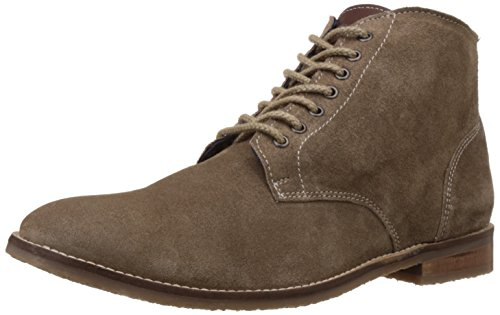 Bata Men's Pitt Beige Leather Boots - 9 UK/India (43 EU) (8038109)