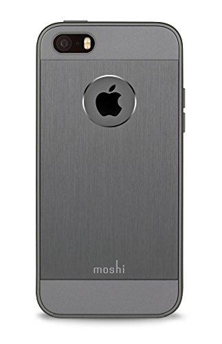 Preisvergleich Produktbild Moshi 99MO061211 iGlaze Armour Schale für Apple iPhone SE grau