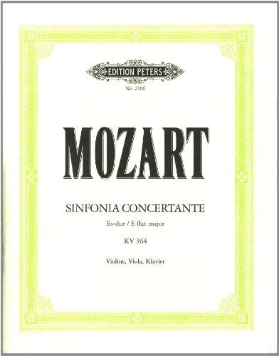 Sinfonia Concertante Es-Dur KV 364. Violine, Viola, Klavier
